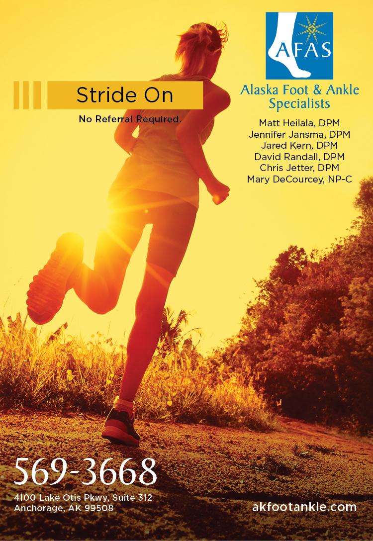 Alaska Foot & Ankle Specialists print ad 02