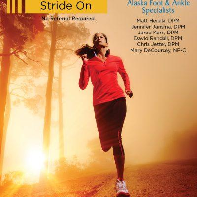 Alaska Foot & Ankle Specialists print ad 03