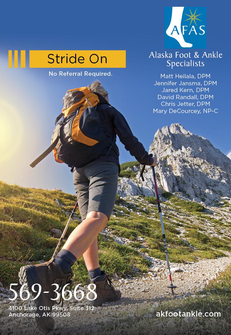 Alaska Foot & Ankle Specialists print ad 04