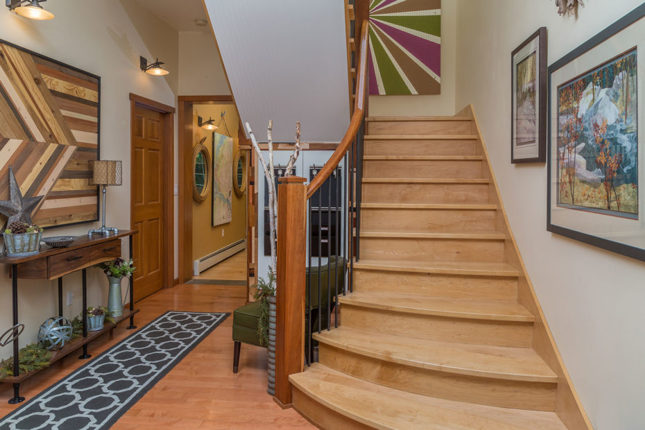 Sears entry and stairs